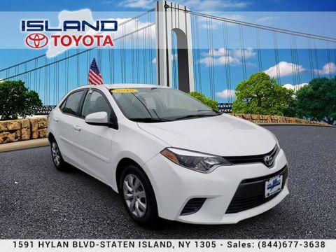 Certified Pre-Owned 2015 Toyota Corolla 4dr Sdn CVT LE LIFETIME WARRANTY Front Wheel Drive Sedan