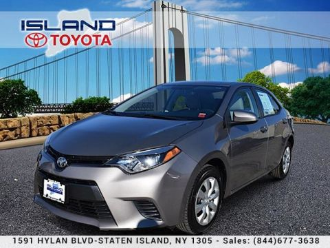 Certified Pre-Owned 2016 Toyota Corolla LE LIFE TIME WARRANTY Front Wheel Drive Sedan
