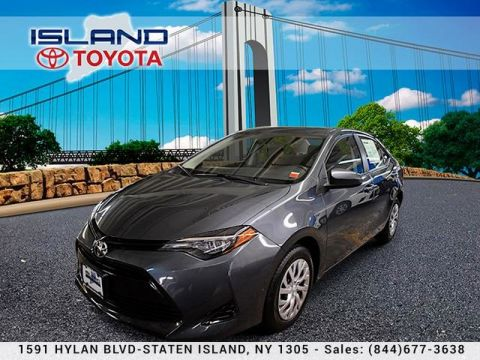 Certified Pre-Owned 2017 Toyota Corolla LE CVT LIFETIME WARRANTY Front Wheel Drive Sedan