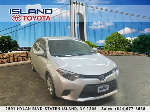 Certified Pre-Owned 2016 Toyota Corolla LE Plus LIFETIME WARRANTY INCLUDED Front Wheel Drive Sedan