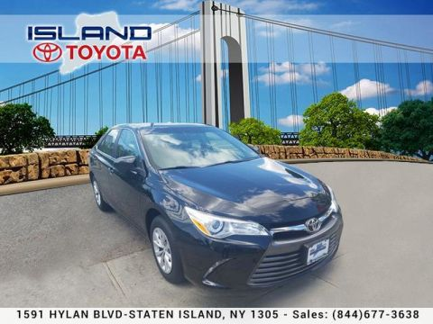 Certified Pre-Owned 2015 Toyota Camry 4dr Sdn I4 Auto LE LIFETIME WARRANTY Front Wheel Drive Sedan