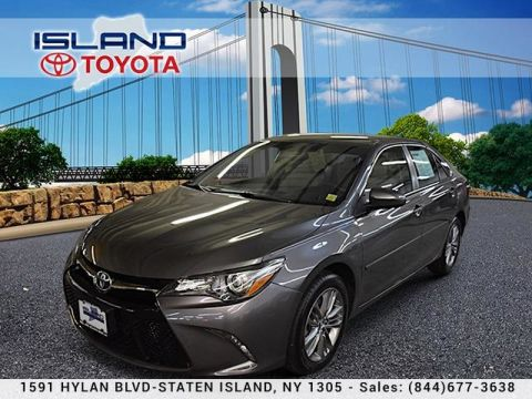 Certified Pre-Owned 2016 Toyota Camry 4dr Sdn I4 Auto SE Front Wheel Drive Sedan