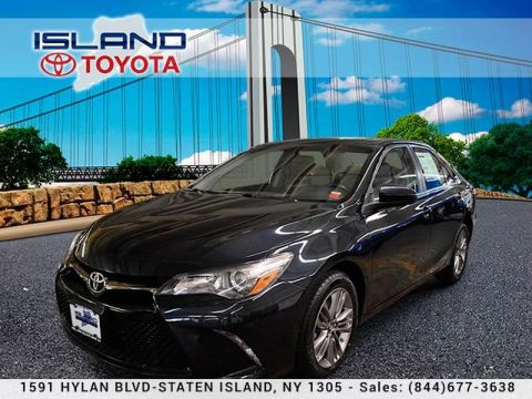 Pre-Owned 2016 Toyota Camry 4dr Sdn I4 Auto SE LIFETIME WARRANTY Front Wheel Drive Sedan