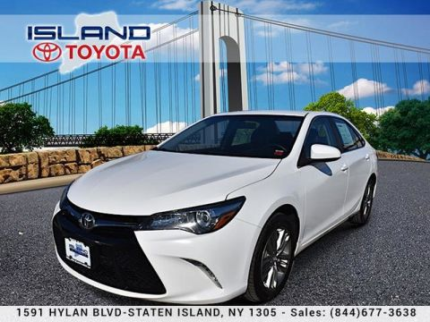 Certified Pre-Owned 2016 Toyota Camry 4dr Sdn I4 Auto SE LIFETIME WARRANTY Front Wheel Drive Sedan