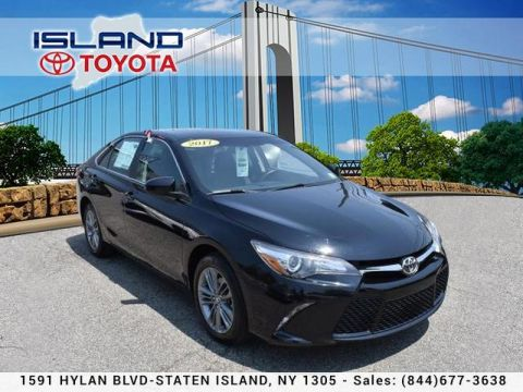 Certified Pre-Owned 2017 Toyota Camry LE Auto LIFETIME WARRANTY INCLUDED Front Wheel Drive Sedan