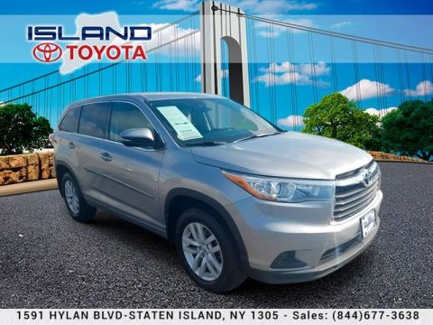 Certified Pre-Owned 2015 Toyota Highlander FWD 4dr I4 LE LIFETIME WARRANTY Front Wheel Drive SUV