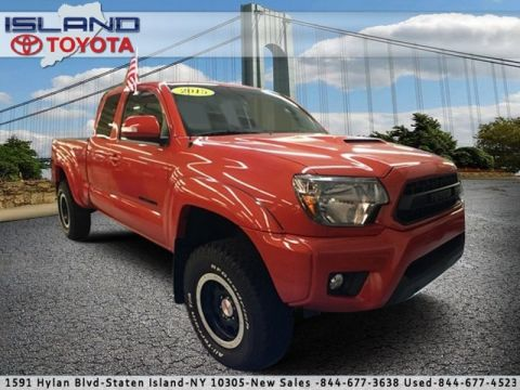 Certified Pre-Owned 2015 Toyota Tacoma 4WD Access Cab V6 AT TRD Pro Four Wheel Drive Pickup Truck
