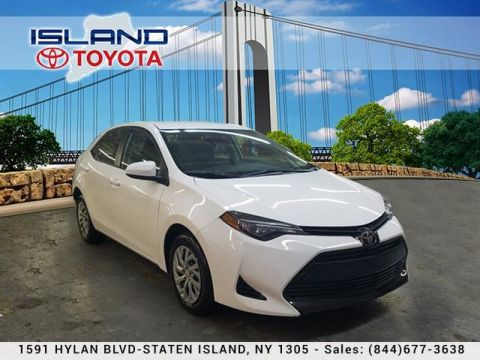 Certified Pre-Owned 2017 Toyota Corolla LE CVT LIFETIME WARRANTY INCLUDED Front Wheel Drive Sedan