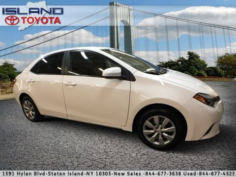 Certified Pre-Owned 2015 Toyota Corolla 4dr Sdn CVT LE Front Wheel Drive Sedan