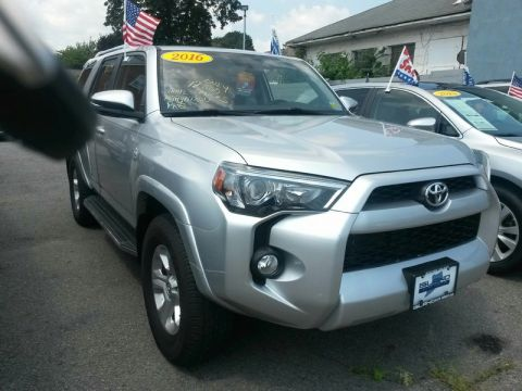 Certified Pre-Owned 2016 Toyota 4Runner 4WD 4dr V6 SR5 Four Wheel Drive SUV