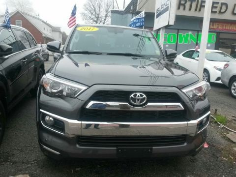 Certified Pre-Owned 2017 Toyota 4Runner Limited 4WD LIFETIME WARRANTY INCLUDED Four Wheel Drive Sport Utility