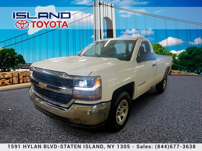 Pre-Owned 2018 Chevrolet Silverado 1500 2WD Reg Cab 133.NO ADDED DEALER FEES EVER!