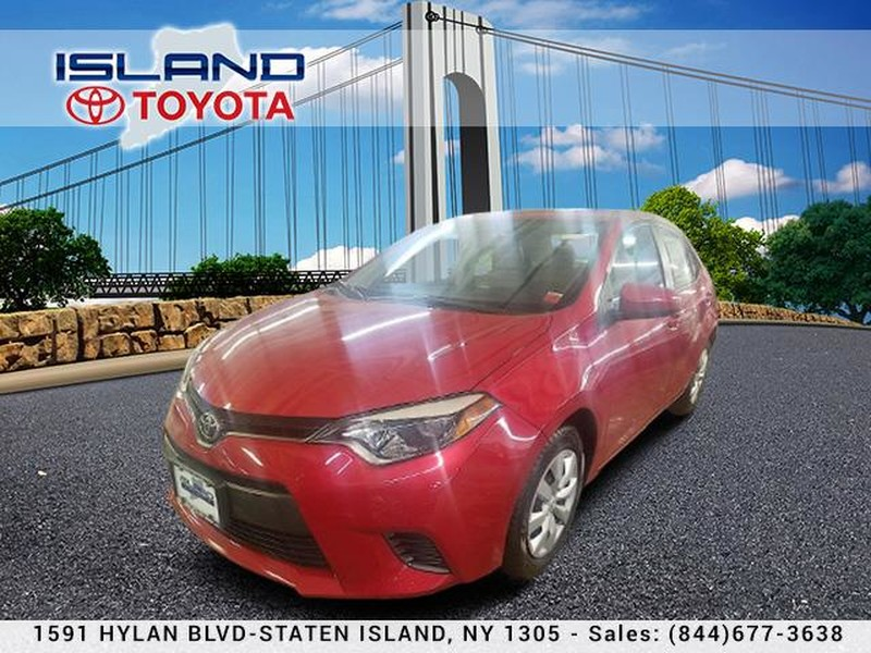 Pre-Owned 2016 Toyota Corolla 4dr Sdn CVT LE CERTIFIED 1.9 % AVAILABLE 1605 HYLAN BLV