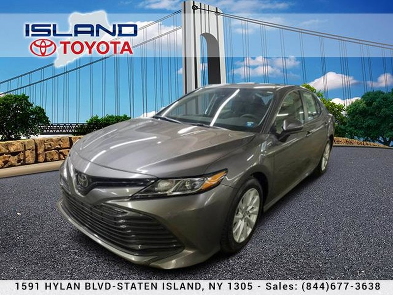 Pre-Owned 2019 Toyota Camry LE Auto LOCATED 1605 HYLAN CERTIFIED 718 979 9595