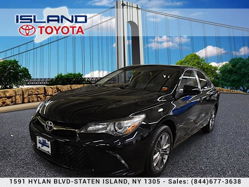 Pre-Owned 2016 Toyota Camry 4dr Sdn I4 Auto SE LIFETIME WARRANTY