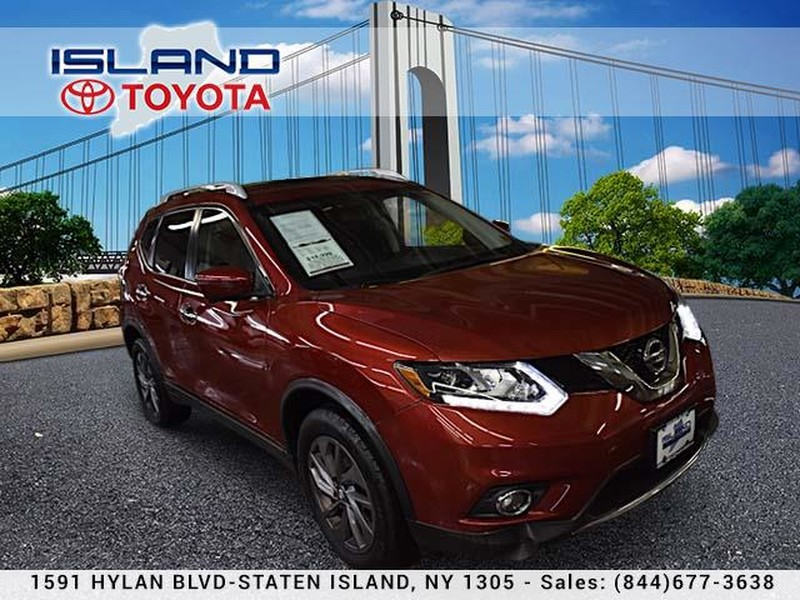 Pre-Owned 2016 Nissan Rogue AWD 4dr SL LIFETIME WARRANTY