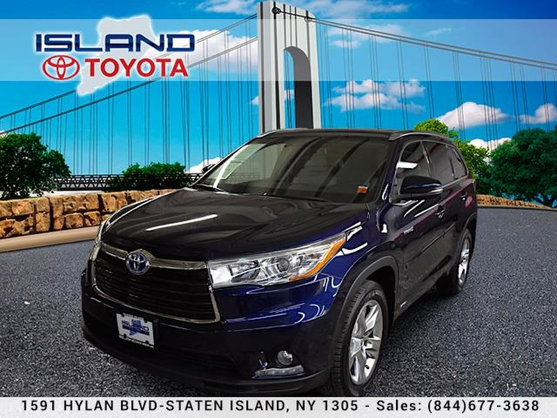 Pre-Owned 2016 Toyota Highlander Hybrid AWD 4dr Limited LOADED
