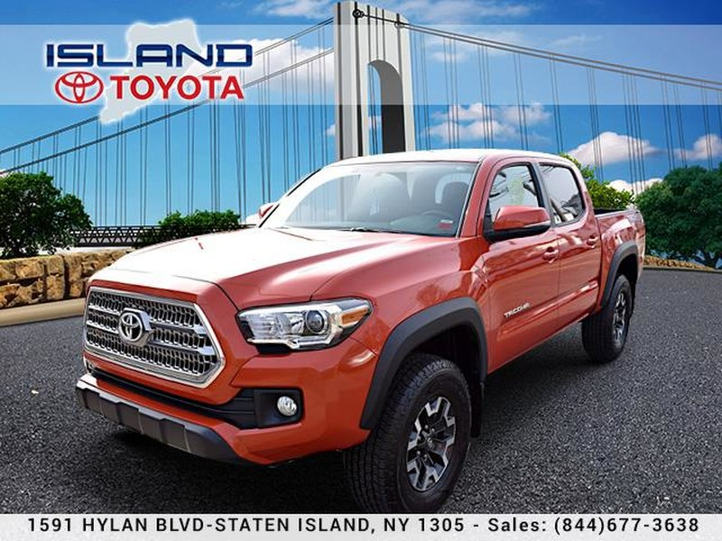 Certified Pre Owned 2016 Toyota Tacoma 4wd Double Cab V6 At Trd Off Road Life
