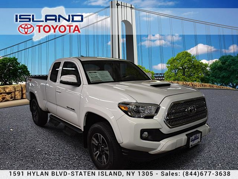 Pre Owned 2016 Toyota Tacoma Lifetime Warranty 4wd Access Cab V6 At Sr5 Trd Sport