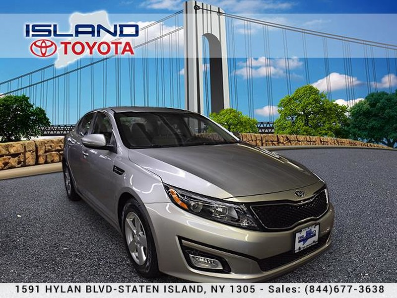 Pre-Owned 2015 Kia Optima 4dr Sdn LX LIFETIME WARRANTY
