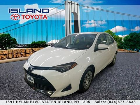 Pre-Owned 2019 Toyota Corolla LE CVT CERTIFIED SHOWROOM 1605 HYLAN BL 718 979 9595 Sedan Front Wheel Drive