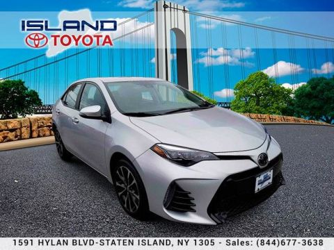 Pre-Owned 2018 Toyota Corolla SE 1605 HYLAN BLVD CALL 718 979 9595 CERTIFIED Sedan Front Wheel Drive
