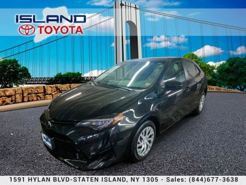 Pre-Owned 2018 Toyota Corolla LE CERTIFIED INDOOR SHOWROOM 1605 HYLAN BLV 4dr Car Front Wheel Drive