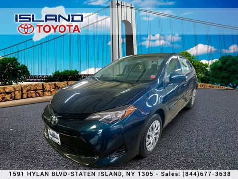 Pre-Owned 2017 Toyota Corolla LE CVT 718 979 9595 TOYOTA CERTIFIED DRIVE TODAY!! Sedan Front Wheel Drive