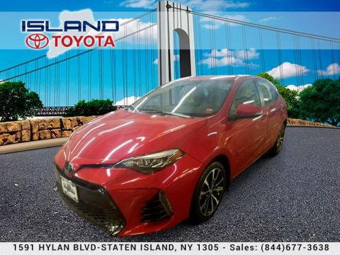 Pre-Owned 2017 Toyota Corolla SE CVT CERTIFIED NO ADDED DEALER FEES!!!!718 979 9595 Sedan Front Wheel Drive
