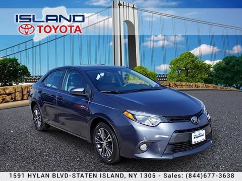 Pre-Owned 2016 Toyota Corolla 4dr Sdn CVT LE Plus LIFETIME WARRANTY Front Wheel Drive Sedan