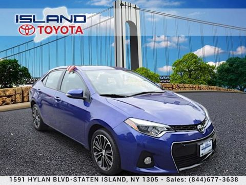 Pre-Owned 2016 Toyota Corolla 4dr Sdn CVT S LIFETIME WARRANTY Front Wheel Drive Sedan