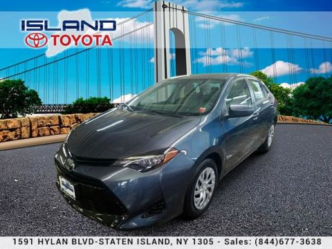 Certified Pre-Owned 2017 Toyota Corolla LE CVT TOYOTA CERTIFIED INDOOR SHOWROOM 1605 HYLAN BLV Sedan Front Wheel Drive