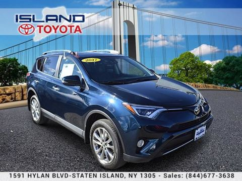 Pre-Owned 2017 Toyota RAV4 Limited AWD LIFETIME WARRRANTY All Wheel Drive Sport Utility