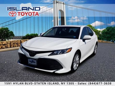 Pre-Owned 2018 Toyota Camry LE Auto (Natl) 5000 MILES !!!! Sedan Front Wheel Drive