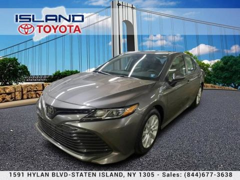 Pre-Owned 2019 Toyota Camry LE Auto LOCATED 1605 HYLAN CERTIFIED 718 979 9595 Sedan Front Wheel Drive