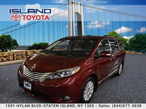 Pre-Owned 2017 Toyota Sienna Limited AWD Premium lifetime warranty All Wheel Drive Minivan/Van