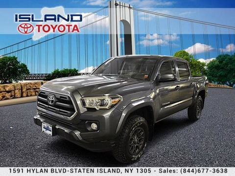 Pre-Owned 2017 Toyota Tacoma SR5 DOUBLE CAB 4X4 LIFETIME WARRANTY Pickup Truck Four Wheel Drive