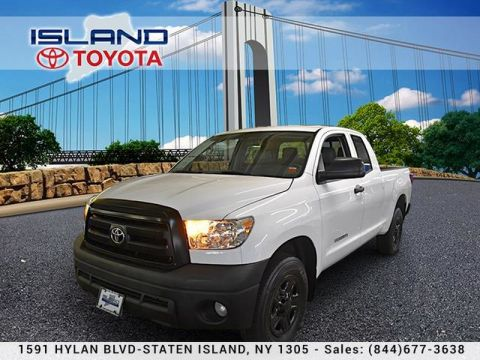 Pre-Owned 2013 Toyota Tundra 4WD Truck Double Cab 4.6L V8 6-Spd AT LIFETIME WARRANTY Pickup Truck Four Wheel Drive