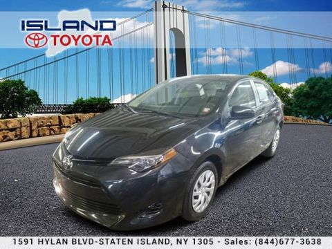 Pre-Owned 2018 Toyota Corolla LE CERTIFIED INDOOR SHOWROOM 1605 HYLAN BLV Sedan Front Wheel Drive