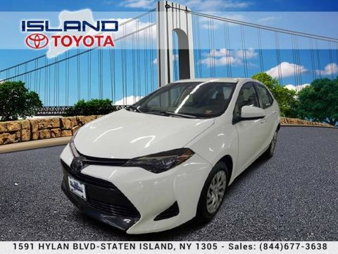Pre-Owned 2019 Toyota Corolla LE AUTO TOYOTA CERTIFIED TOYOTA 718 979 9595 Sedan Front Wheel Drive