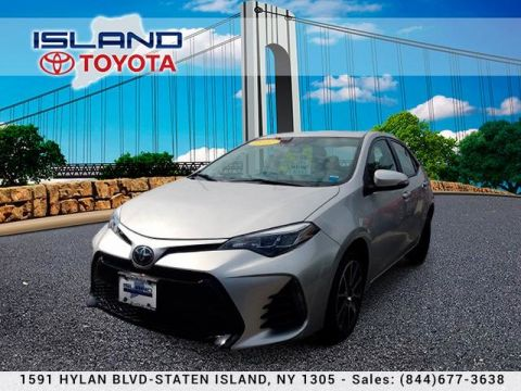 Certified Pre-Owned 2017 Toyota Corolla 50th Anniversary Special Edition Sedan Front Wheel Drive