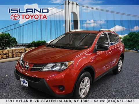 Pre-Owned 2015 Toyota RAV4 AWD 4dr LE lifetime warranty All Wheel Drive SUV